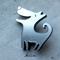 brože Stellion - kolekce Goldy / brooches Stellion - Goldy collection